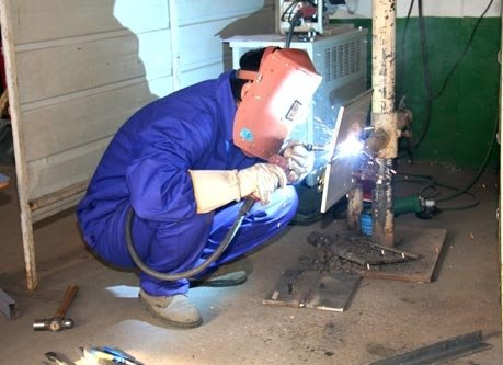 手工电弧焊
