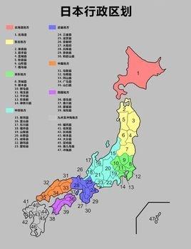 京都行政划分地图