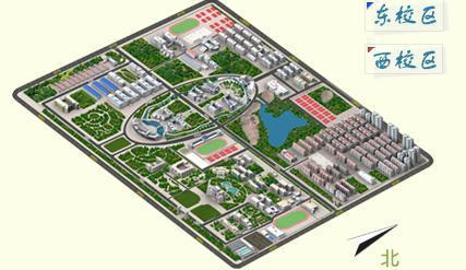 虚拟校园-三维校园地图