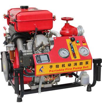 一般由一组消防泵,动力源,控制柜以及辅助装置组成.