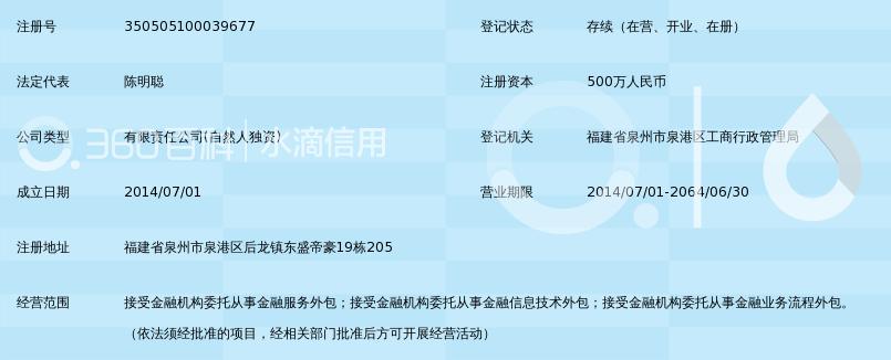 福建省睿孞天—金融硬件外包有限公司_360百