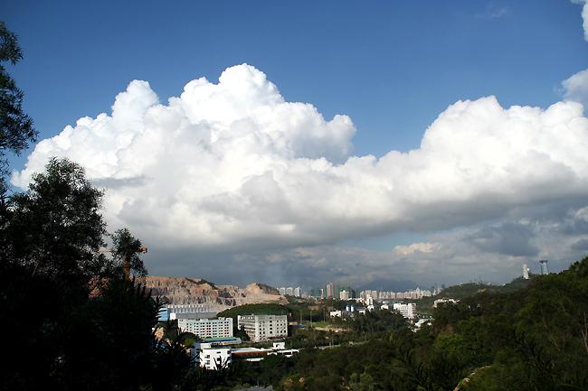 大洋云景位于揭西县大洋乡,在海拔800多米的高山上,是全国唯一的高山