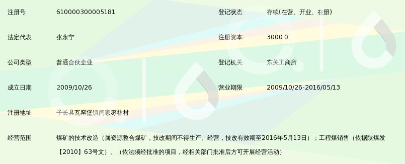 子长县扇咀湾百科(普通合伙)_360煤矿磁县中滏滨有高吗图片