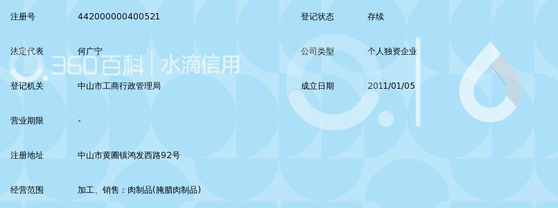 中山市黄圃镇广发百科制品厂_360教程肉类小学生v百科图片